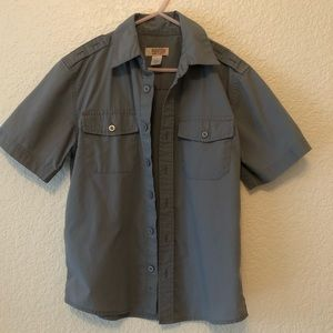ROUTE 66 grey boys buttonup size 8
